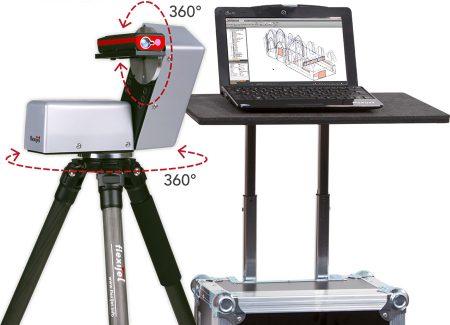 Flexijet 3D Laseraufmaßsystem