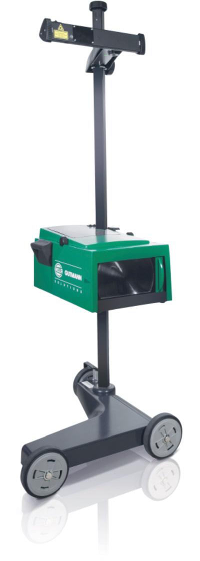 Stückprüfung und Kalibrierung eines Scheinwerfer-Einstellprüfgerätes (SEP)